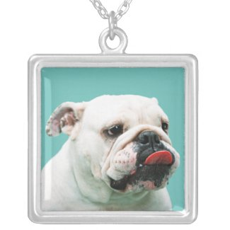 Bulldog Necklace
