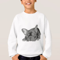 Bulldog of Lines Sweatshirt
