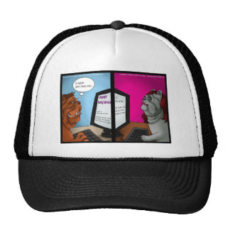 Bulldog Online Dating Funny Gifts Tees & Cards Trucker Hat