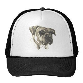 Bulldog Original Artwork by Carol Zeock Trucker Hat