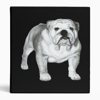 Bulldog Painting Binder
