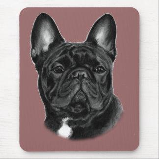 Bulldog Painting Mouse Pad