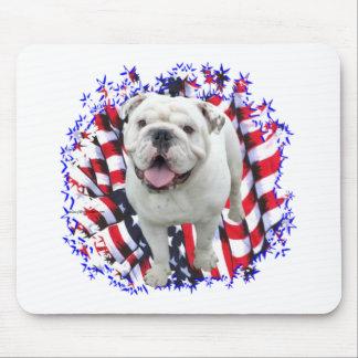 Bulldog Patriot Mouse Pad