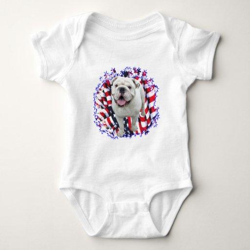 Bulldog Patriot T Shirt