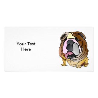 Bulldog Photo Card