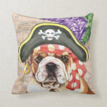 Bulldog Pirate Pillows