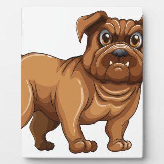 Bulldog Display Plaque
