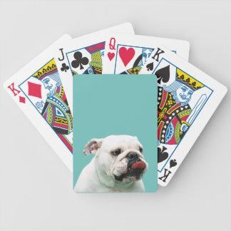 Bulldog Playing Cards