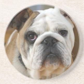 Bulldog.png Drink Coaster