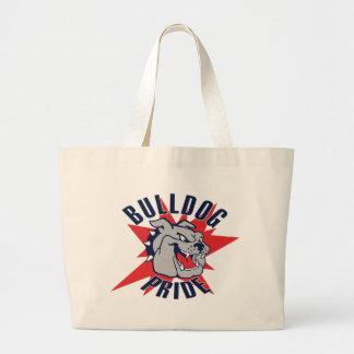 Bulldog Pride Jumbo Tote Bag