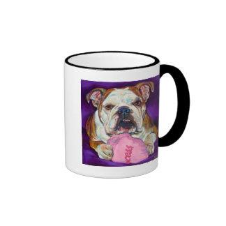 Bulldog Princess Mugs