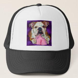 Bulldog Princess Trucker Hat