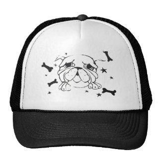 Bulldog Print Hat