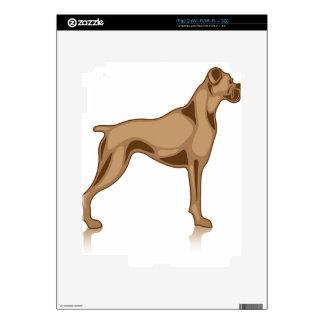 Bulldog Profile Decals For iPad 2