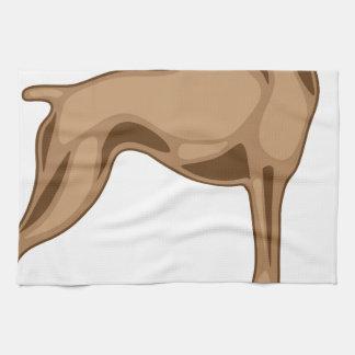 Bulldog Profile Hand Towel