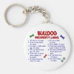Bulldog Property Laws 2 Keychain