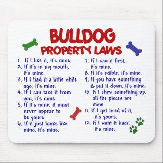Bulldog Property Laws 2 Mouse Mats