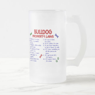 Bulldog Property Laws 2 Mugs