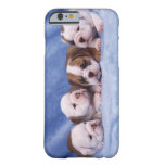 Bulldog puppies barely there iPhone 6 case