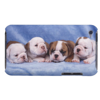 Bulldog puppies barely there iPod cases