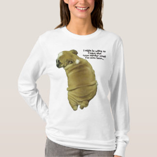 Bulldog Puppy Love Handles and Bacon T-Shirt