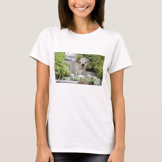 Bulldog Puppy Love T-Shirt