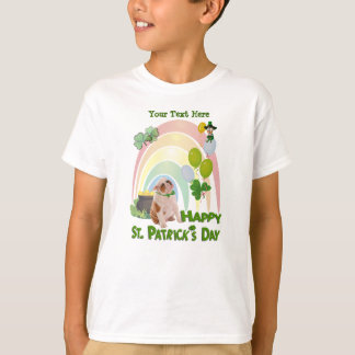 Bulldog Puppy - Matches Irish Or Not Design T-Shirt