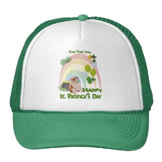 Bulldog Puppy - Matches Irish Or Not Design Trucker Hat