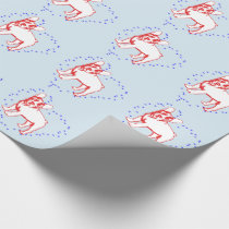 Bulldog Puppy Paper Wrapping Paper