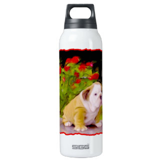 Bulldog puppy SIGG thermo 0.5L insulated bottle