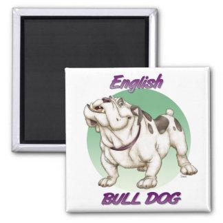 bulldog refrigerator magnet