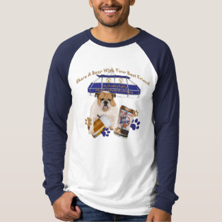 Bulldog Share A Beer With Your Best Friend T Shirt
