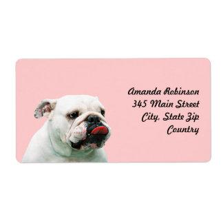 Bulldog Shipping Label