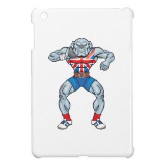 bulldog shotputter 2 iPad mini cases