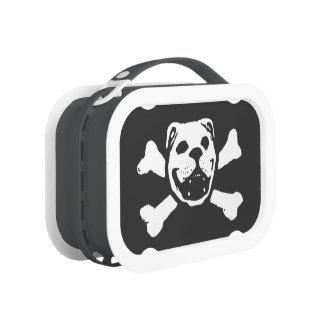 BULLDOG SKULL (by Bulldog Haven NW) Lunch Box