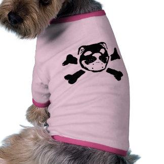 Bulldog Skull Pet Clothing