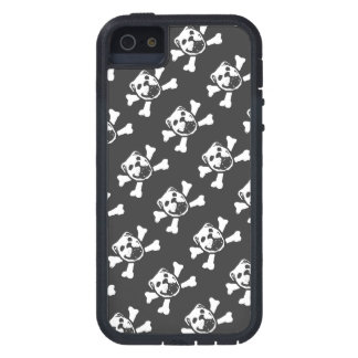 BULLDOG SKULL PRINT (by Bulldog Haven NW) Case For iPhone SE/5/5s
