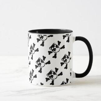 BULLDOG SKULL PRINT (by Bulldog Haven NW) Mug