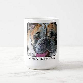 Bulldog Slobber Face Mug