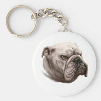 Bulldog, So Ugly He's Cute Keychain