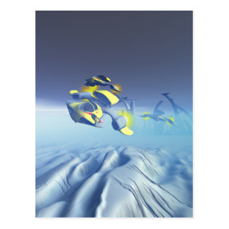 Bulldog Squadron Flyover Postcard