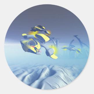 Bulldog Squadron Flyover Sticker