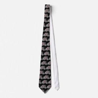 Bulldog Style Neck Tie