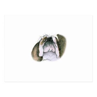 bulldog, tony fernandes postcard