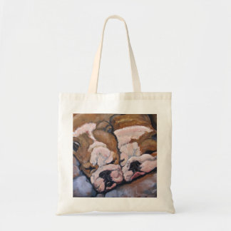 Bulldog Tote Budget Tote Bag
