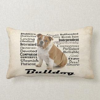 Bulldog Traits Pillow