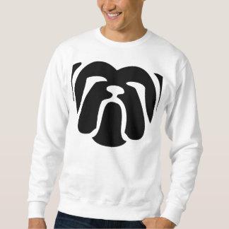 bulldog tribal.png sweatshirt
