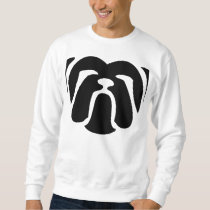 bulldog tribal sweatshirt