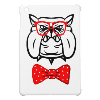 Bulldog Unique Funny Geek iPad Mini Cases