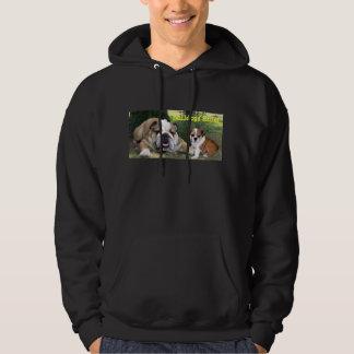Bulldog Unisex Hooded Sweatshirt